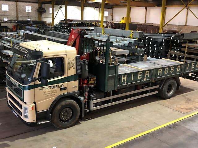 transporte materiales construcción